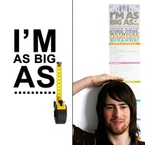 I'm as Big As Wall Chart