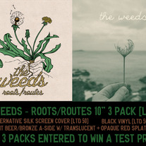 "The Weeds - Roots/Routes 10"" 3-Pack [ltd 20]"