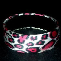 Silk Leopard Bangle