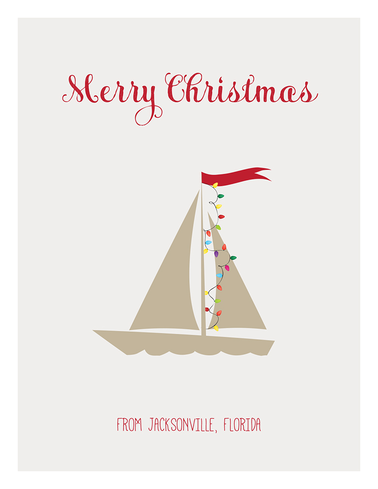 904 Paper Co. | Merry Christmas Jax Sailors | Online Store Powered ...