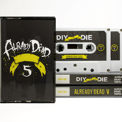 Already dead v comp. double cassette - 'diy or die' (ad182)