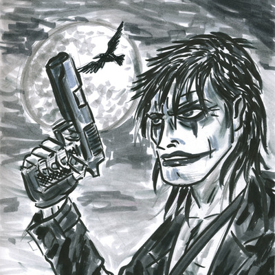 Original artwork- the crow
