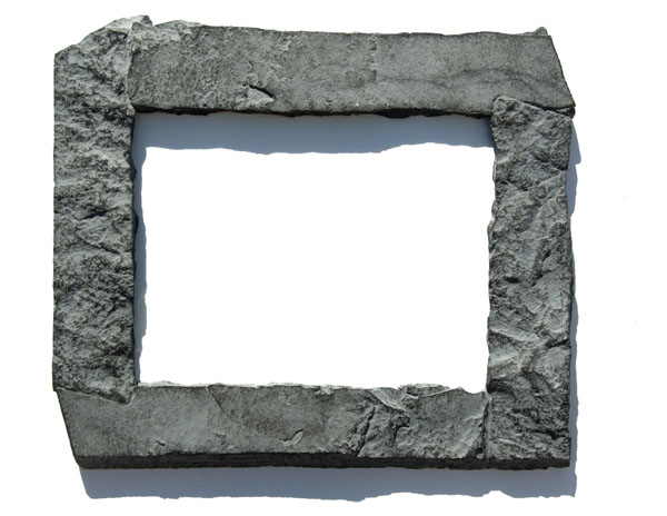 Rock\'n Frames | 11x14 Gray rock picture frame | Online Store Powered ...