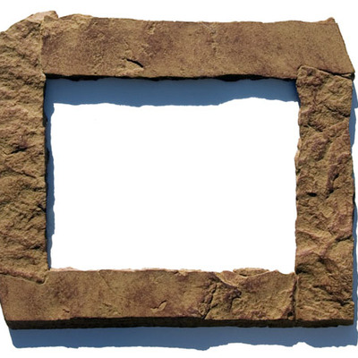 11x14 tan rock picture frame