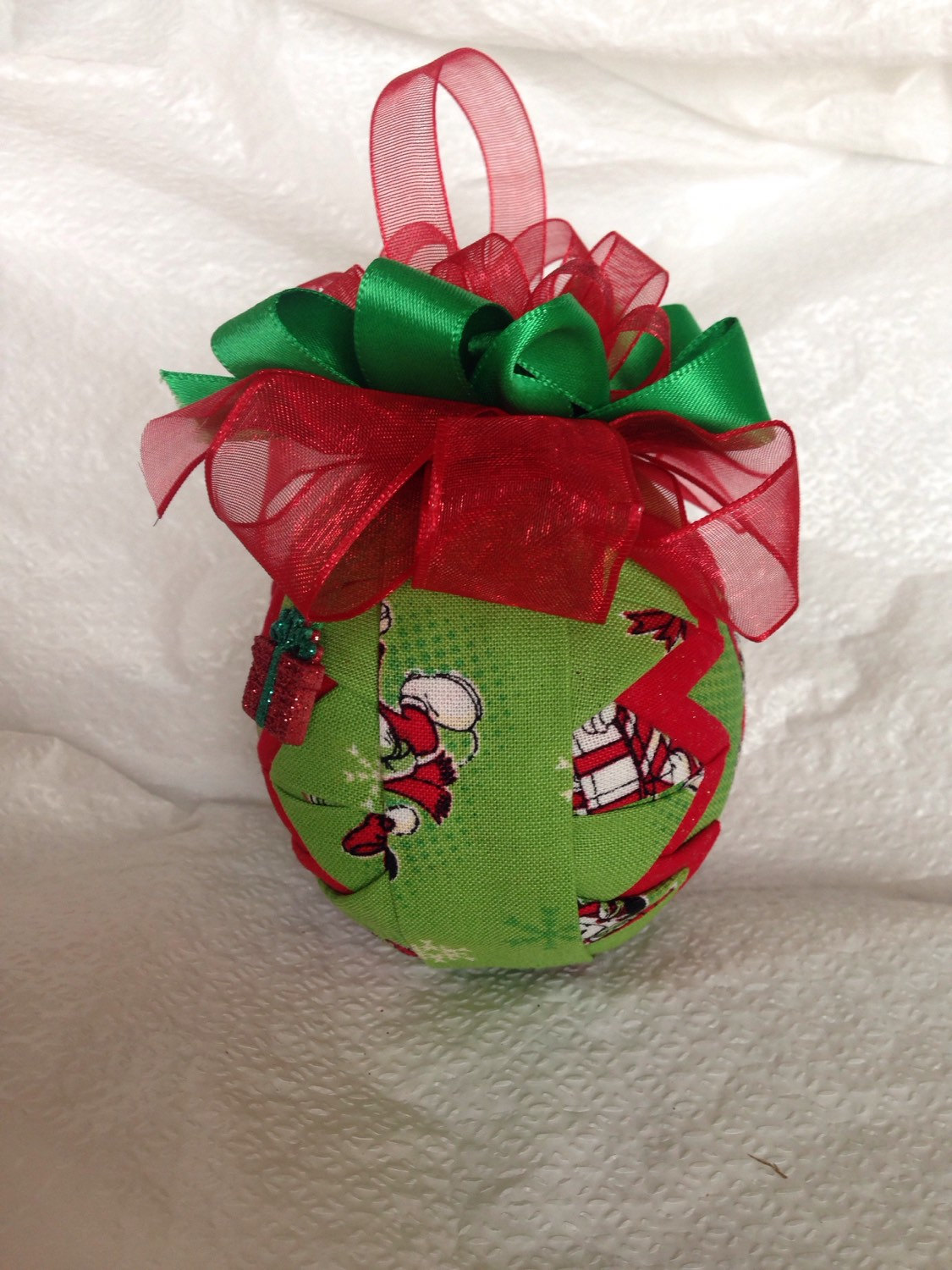 Disney Inspired Donald Duck Gifts Quilted Christmas Ornament · NCGal ...