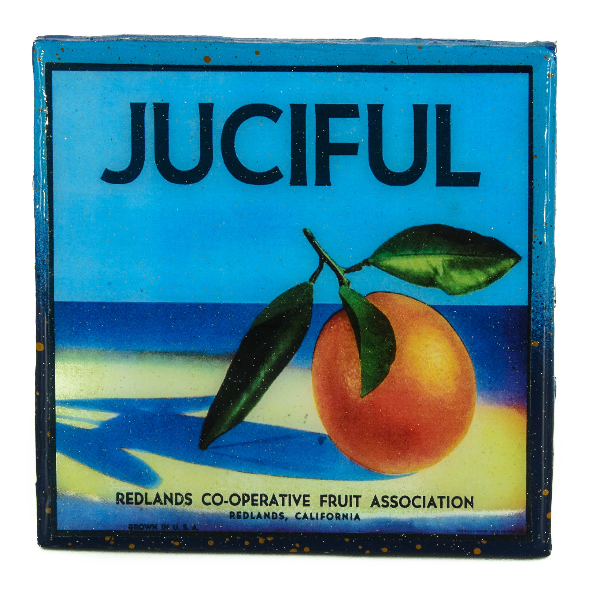 Stella Divina * | Juciful - Vintage Citrus Crate Label - Handmade ...
