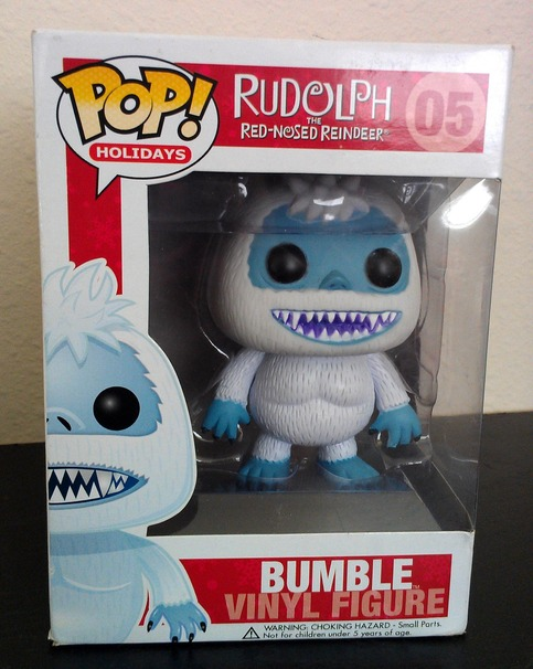 Funko Pop Rudolph The Red Nosed Reindeer Bumble Figure 05