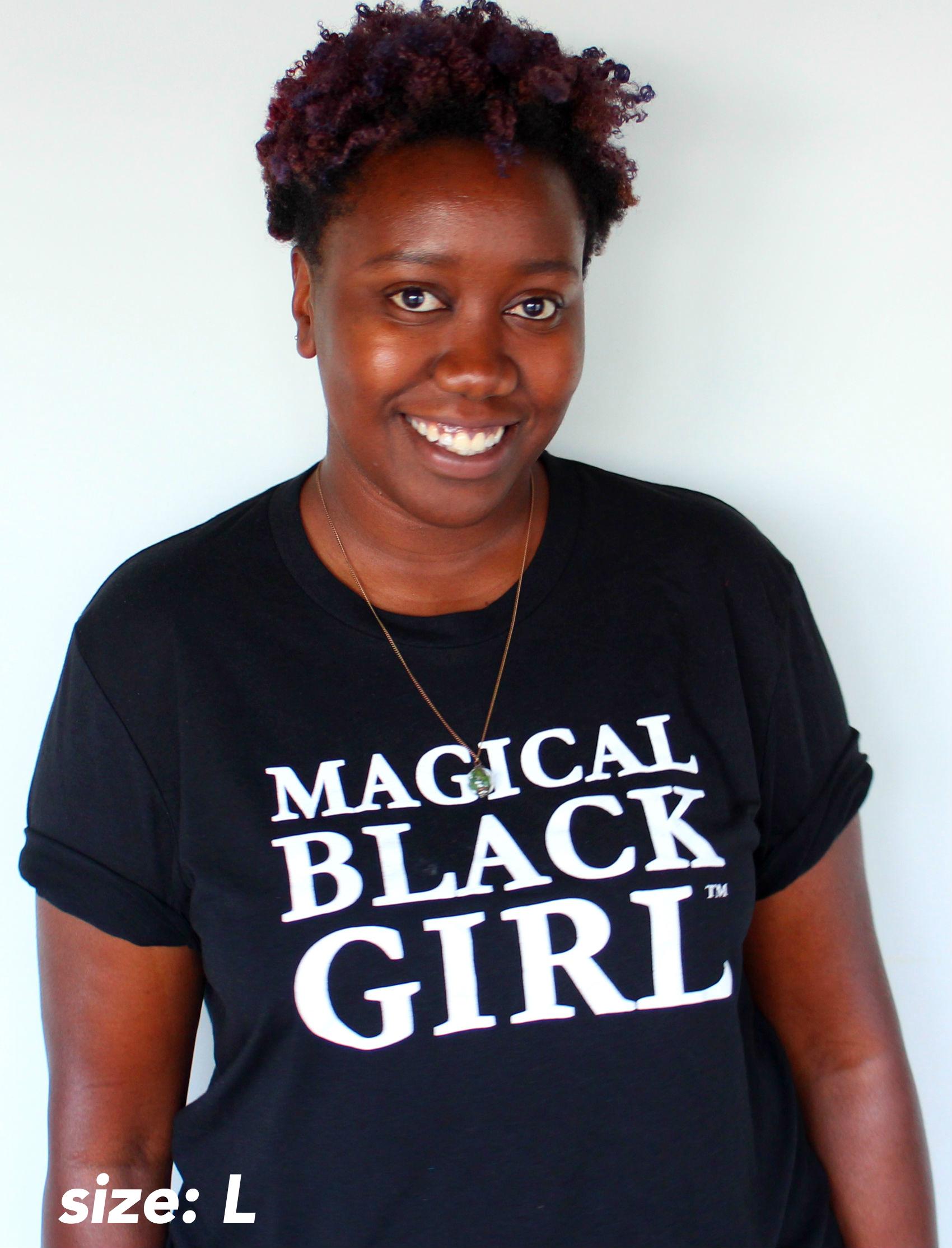 Black t shirt on girl -  Preorder Magical Black Girl T Shirt Usa Shipping Only