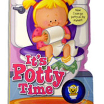 It's Potty Time (for girls)