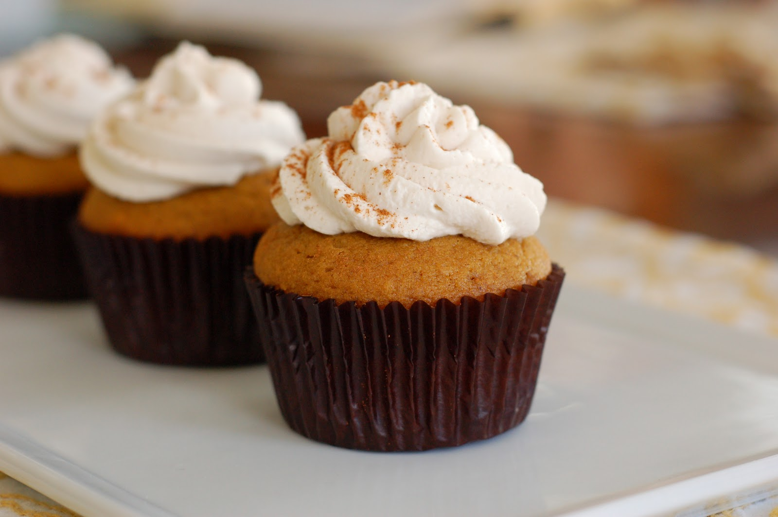 Pumpkin Cupcake Recipes spiced pumpkin cupcakes pumpkin cupcakes with pumpkin spice cream