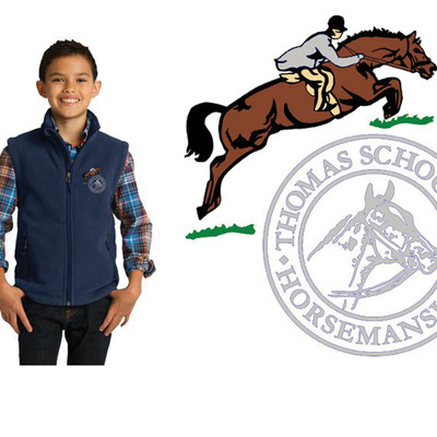Youth fleece vest