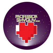 """8-Bit Heart"" Button"