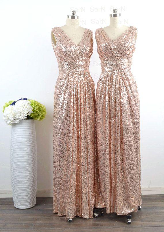 Gold sequin bridesmaid dresses off shoulder bridesmaid for Gold sequin wedding dress