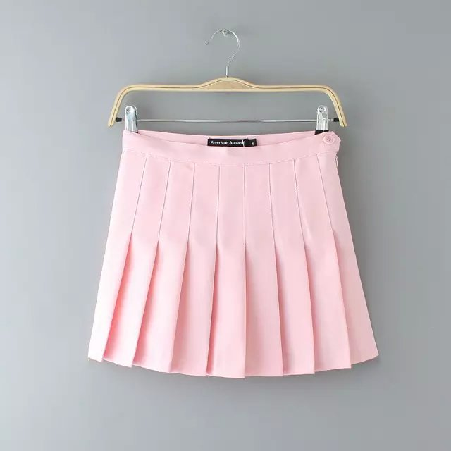 HIGH WAIST TENNIS SKIRT(LIGHT PINK) · Storeunic · Online Store ...
