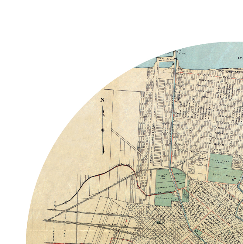 photograph relating to Printable Map of New Orleans identify Refreshing ORLEANS - metropolis poster - metropolis map poster print versus all town posters