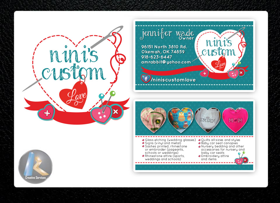 Custom Logo Design + Business Cards · KZ Creative Services ...