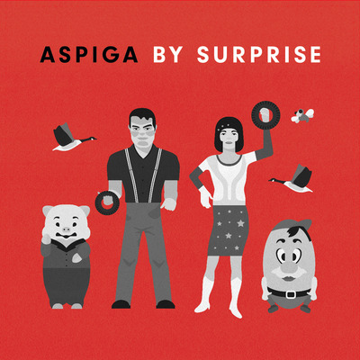 Aspiga / by surprise split 7""