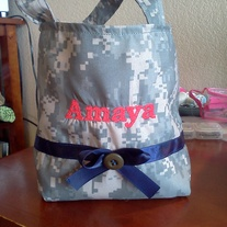 Little girl acu bag