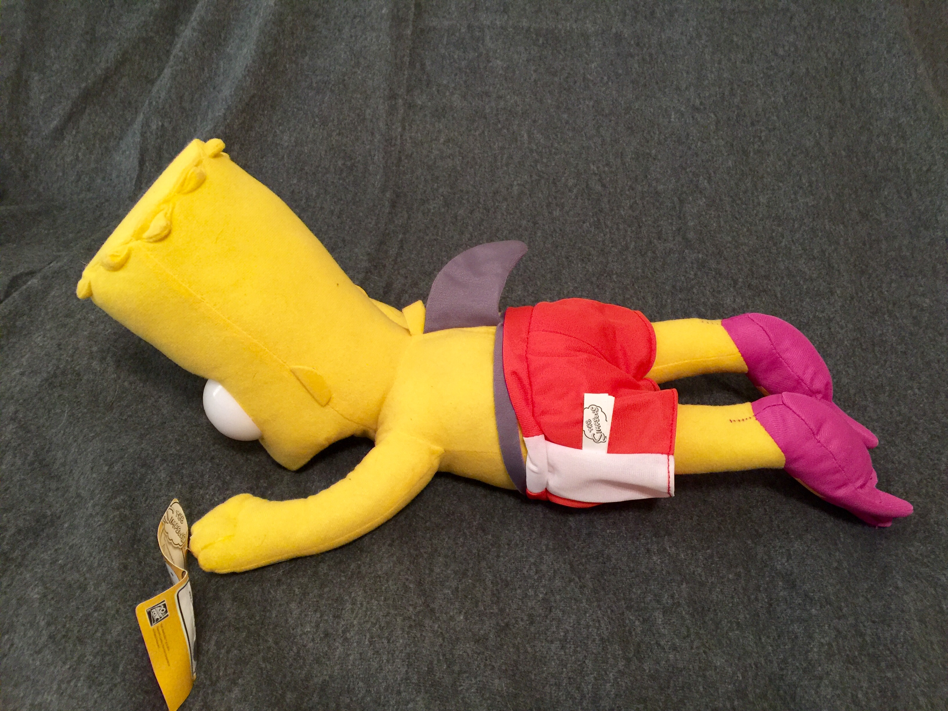 Lego Shark Toys For Boys : Bart shark boy plush · thesimpsonsman online store
