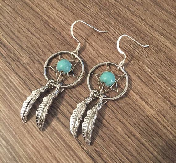 Dream Catcher Earrings Country Wind Online Store Powered By Storenvy Mesmerizing Dream Catcher Earrings Online