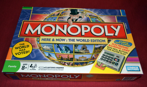 how to play monopoly electronic banking rules