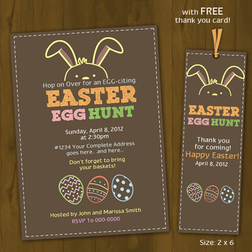 Shocking image regarding easter egg hunt invitations free printable