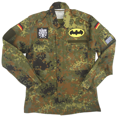 Camouflage fleck field jacket x german military x american anarchy brand