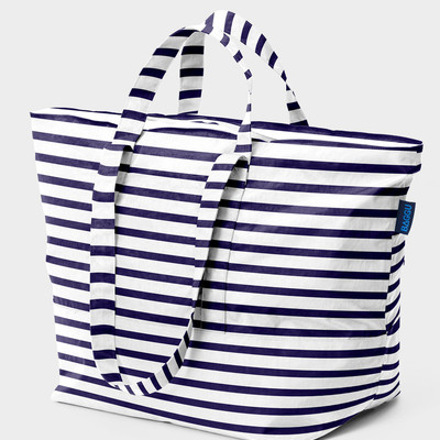 Baggu carry all bag (sailor stripe)