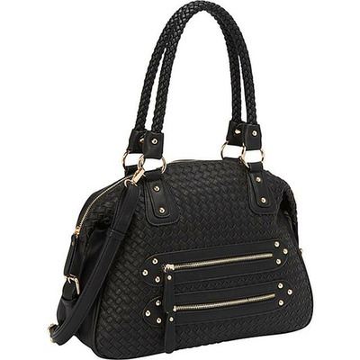 Joanna shoulder bag (black) by melie bianco