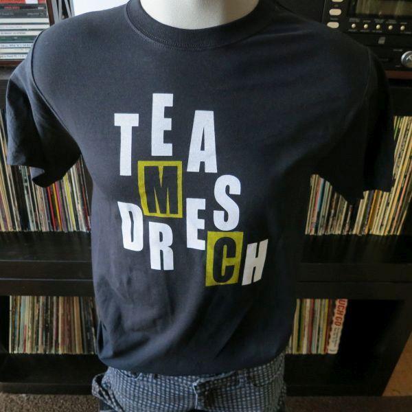 Team dresch tee t shirt screen print short sleeve shirt for Team t shirt printing