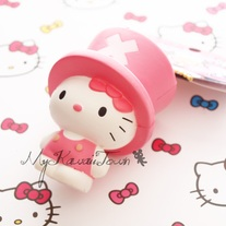 SUPER RARE Squishy Hello Kitty In Chopper Costume