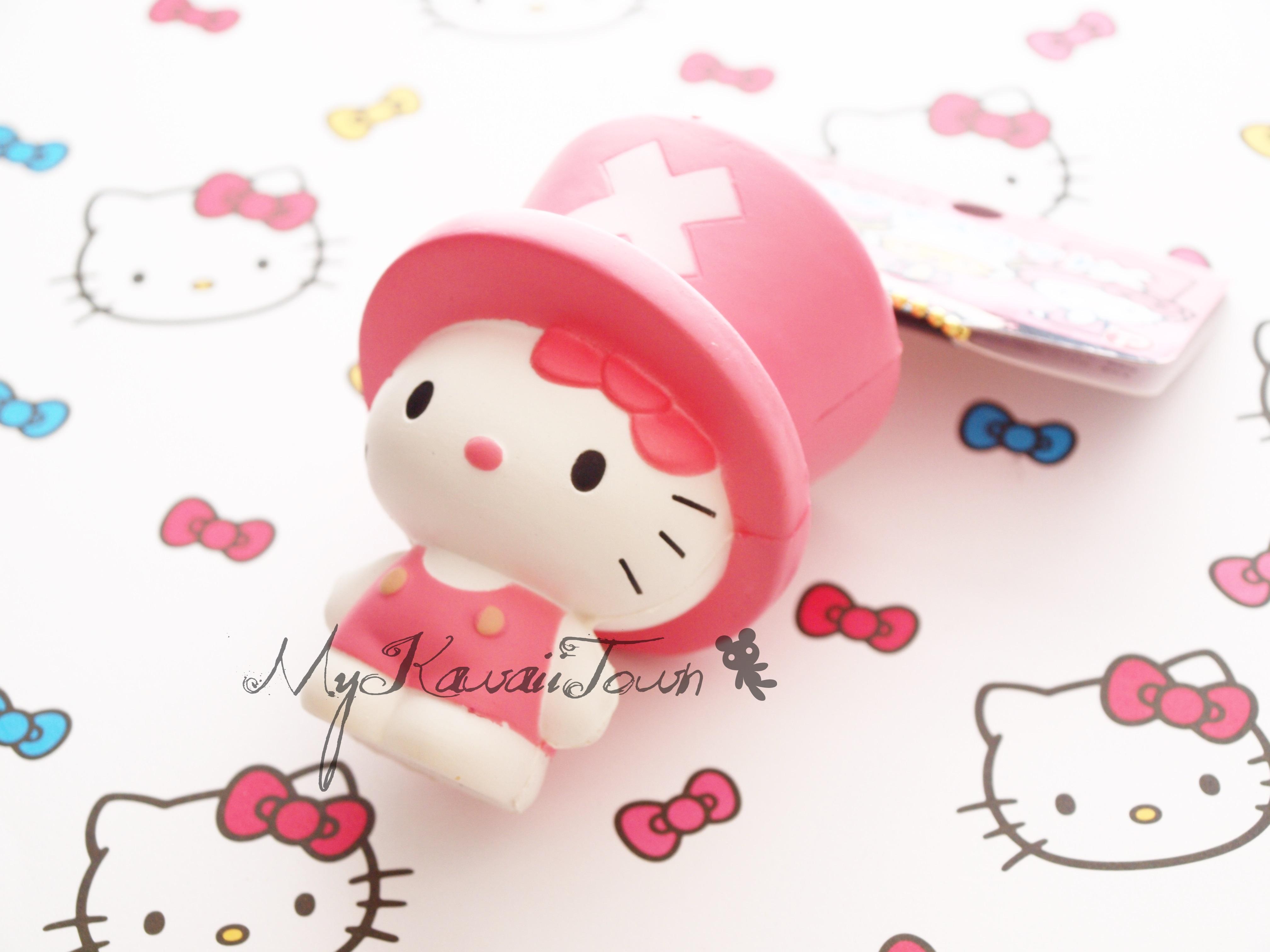 Squishy Sanrio Rare : Mykawaiitown SUPER RARE Squishy Hello Kitty In Chopper Costume Online Store Powered by Storenvy