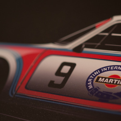 Martini racing porsche 911 rsr turbo sideview - 20 piece limited run