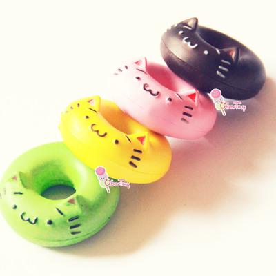 Squishy Collection Bloom : Nekodo cat donut ring squishy - Thumbnail 5