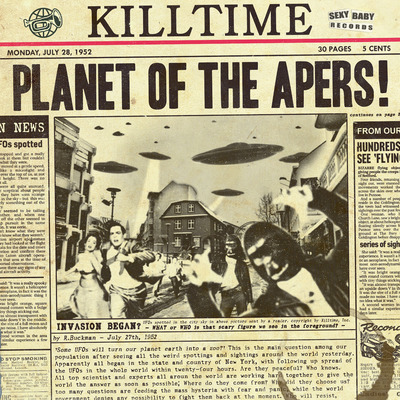 "Killtime ""planet of the apers"" cd"