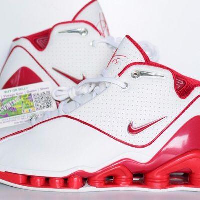 san francisco 06b04 336d9 ... 2001 (BlackVarsity Red – Metallic-Silver) Baseline Leaner Vince Carter  Nike Shox VC II Size 9.5 og 2002 nike shox vc 2 vince carter ...