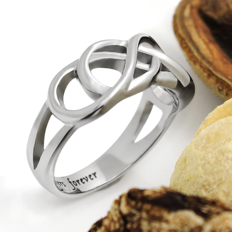 tzaro jewelry purity ring forever infinity ring