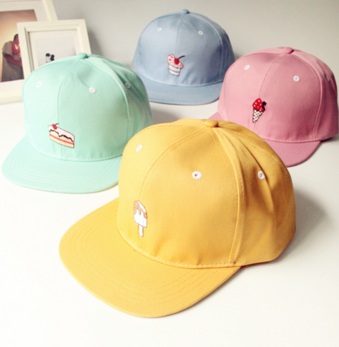 Ice cream   Cake Baseball Hats · hhotaru · 5ee29f48714
