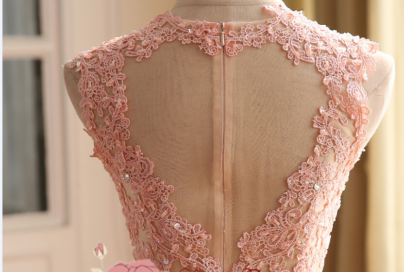 Delicate yards lace appliques beading cord lace fabric bridal