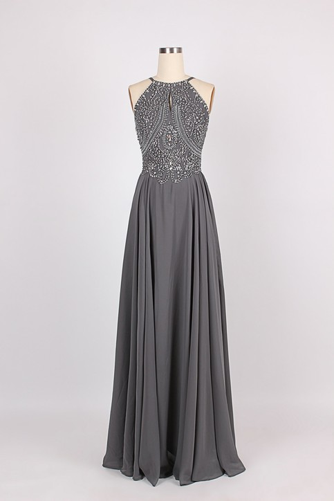 Online Get Cheap Grey Prom Dresses -Aliexpress.com