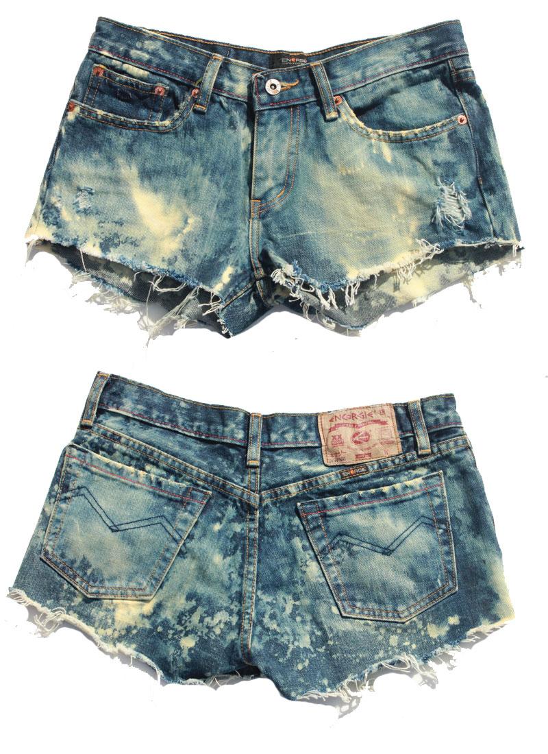 Neva Jane Vintage | Acid Wash Denim Shorts | Online Store Powered ...