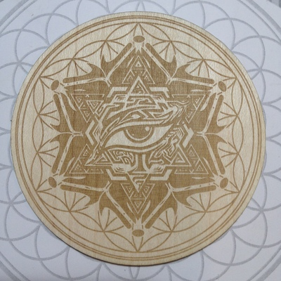 "3"" vision bloom sticker"