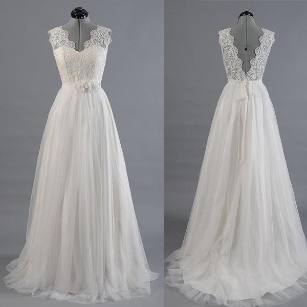 Custom Lace Wedding Dresses