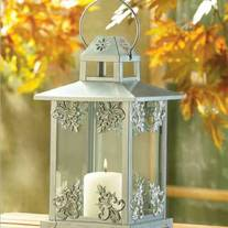 Vintage Inspired Fleur de Lis Lantern for your Wedding Decor
