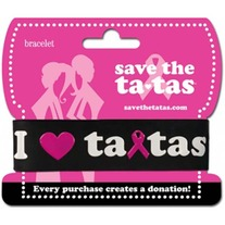 Save the Tatas Bracelet - Black