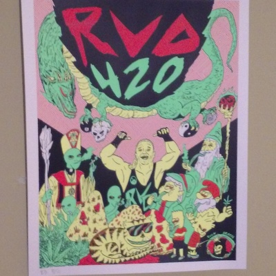 Rvd 420 blacklight poster