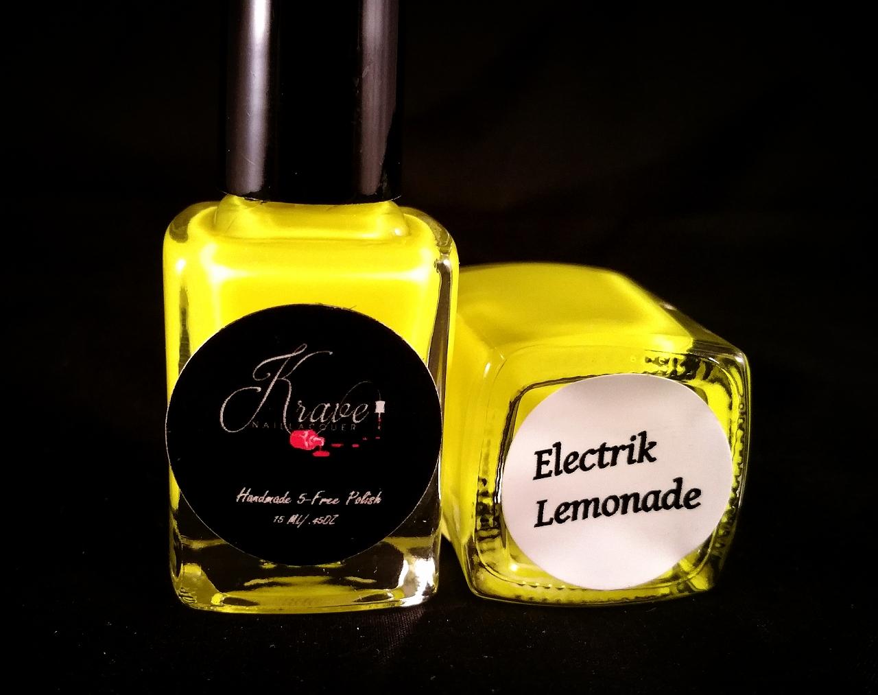 Electrik Lemonade Neon Nail Polish · Krave Spa Essentials · Online ...