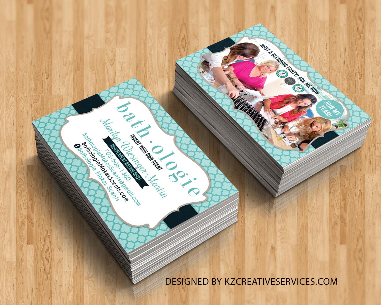 Bathologie Business Cards · KZ Creative Services · Online Store ...