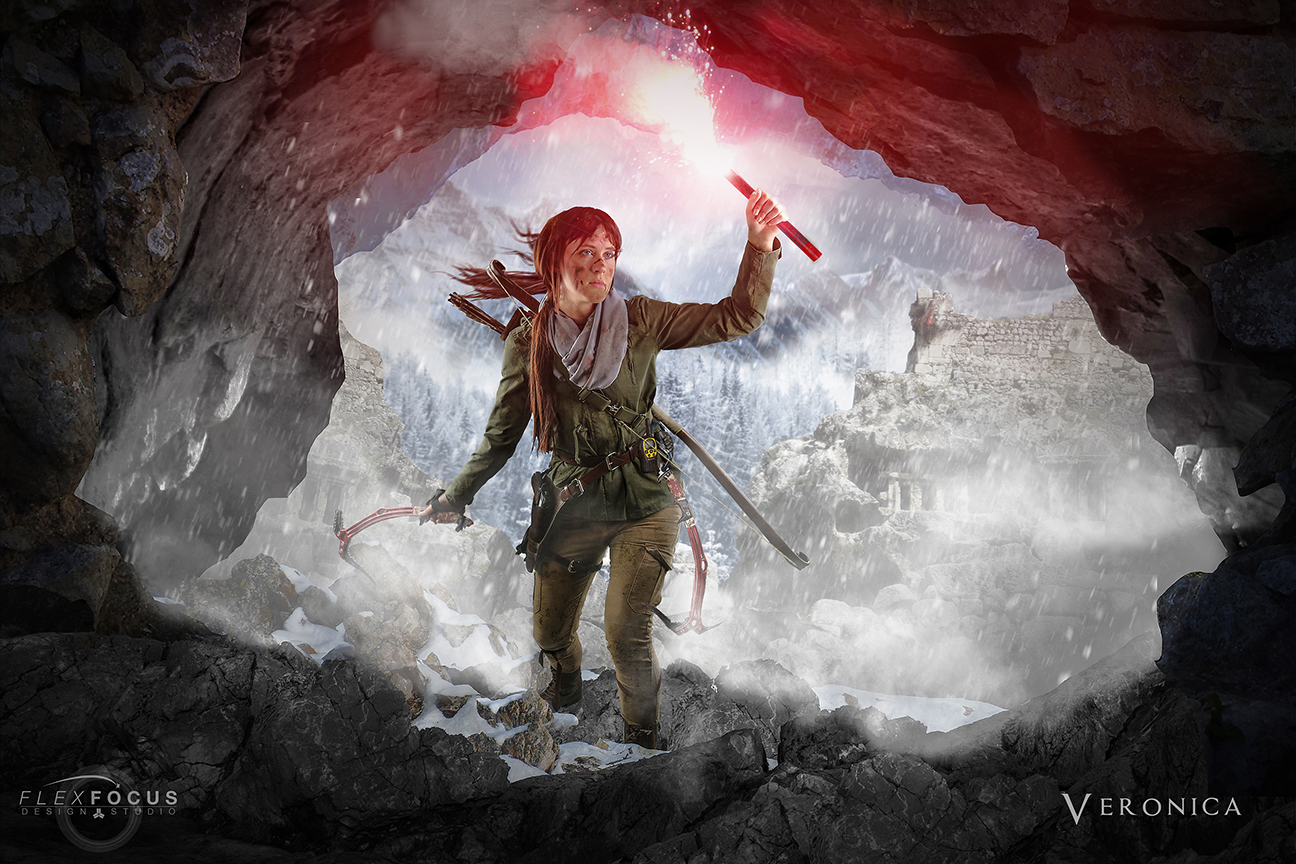 Rise Of The Tomb Raider 18x12 Or 36x24 Poster Print