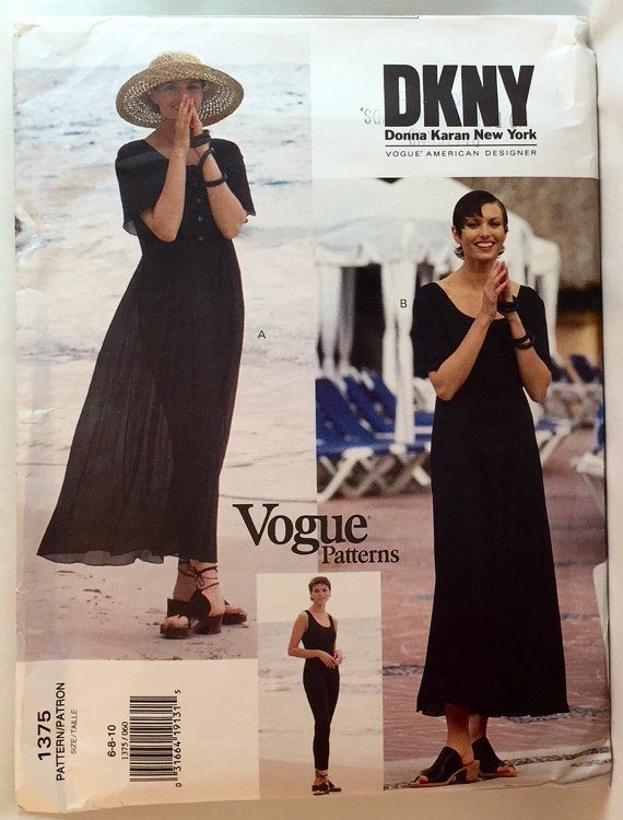 Vogue Pattern 1375 Dkny Pattern Treasures Online Store Powered